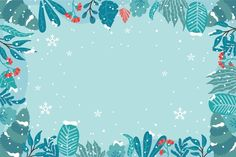 Baby Blue Background, Scenery Background, Winter Background, Landscape Background, Landscape Wallpaper, Merry Christmas Background, Snowflake Background, Christmas Snowflakes, Snowfall Wallpaper