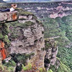 Instagram @carolfrigerio — Cachoeira Da Fumaça, Vale Do Capão, Chapada Diamantina.
