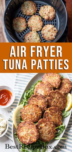 Try out our amazing Air Fryer Tuna Patties recipe. It's a delicious low-carb recipe that's really easy to make at home!