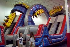 Indoor Jump Zones, Inflatable Play Centers & Trampoline Parks For Kids In Nashville Bouncy House, Bouncy Castle, Kids Indoor Playground, Playground Ideas, Backyard Trampoline, Play Centre, Cool Inventions, Summer Fun, Cool Kids