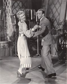 Ginger Rogers and Fred Astaire audition for Lew Fields The Story of Vernon and Irene Castle