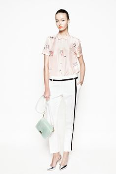 J.Crew Spring 2013 Ready-to-Wear Collection Slideshow on Style.com (Love the tuxedo pants!)