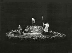 """"""" Das Rheingold """" 3.Bild 1956 Wieland Wagner  Bühnenphoto"""