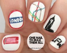 One Nail To Rule Them All: London Fashion Week Nail Art for Avon