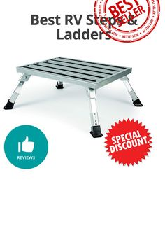Best RV Steps & Ladders - Discount and review Ladders, Picnic Table, Rv, Home Decor, Stairs, Motorhome, Interior Design, Ladder, Home Interior Design