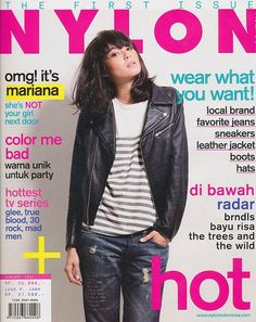 Mariana Renata for Nylon Indonesia First Issue