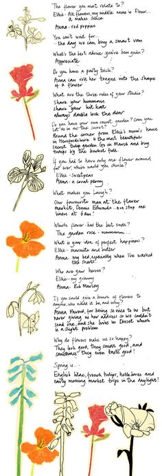 More from Ellie Jauncey and Anna Day of The Flower Appreciation Society (UK)