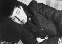 Barbara Morgan: Bernice Abbott with Cat