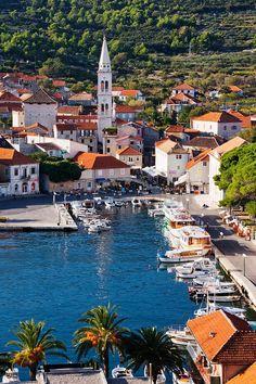 Jelsa Town, Hvar Island, Croatia