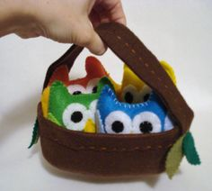 Hey, I found this really awesome Etsy listing at http://www.etsy.com/listing/114234654/nest-basket-for-felt-owl-family