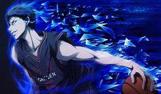 aomine, kuroko no basket Anime Boys, Manga Anime, Anime Art, Aomine Kuroko, Kagami Taiga, Basketball Wallpapers Hd, Image Bleu, Kuroko No Basket Characters, Hd Anime Wallpapers