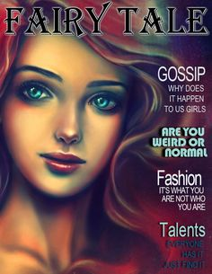 Fairy Tale Magazine: August 2014 Edition Ariel Cover photo #ariel #littlemermaid #fairytalemagazine #coverphoto #forgirls