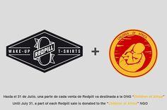 """Redpill colabora con la ONG """"Children of Africa"""". Hasta el 31 de Julio, una parte de cada venta va destinada a esta ONG."""