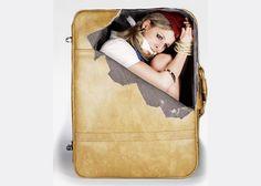 Suitcase Stickers - Stewardess