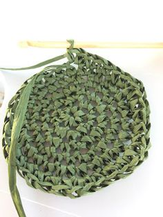 Annoo's Crochet World: Rafia Beach Summer Bag Free Pattern