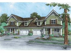 Multi-Family House Plan, 031M-0042
