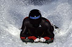 Alexander Gassner of Germany competes during a training session at Olympia Bob Run on January 30, 2013 in St Moritz, Switzerland.    Photo by Lars Baron/Bongarts/Getty Images