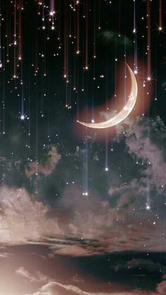 48 Trendy Ideas For Nature Sky Stars Beautiful Moon Cute Wallpaper Backgrounds, Pretty Wallpapers, Tumblr Wallpaper, Galaxy Wallpaper, Aesthetic Iphone Wallpaper, Nature Wallpaper, Screen Wallpaper, Cool Wallpaper, Aesthetic Wallpapers