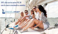 Oferta 10% dto en el curso Patrón embarcaciones de recreo (P.E.R) con la nueva normativa náutica