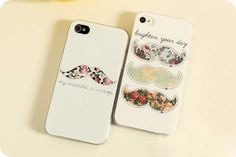 US$8.99 Two different iPhone 4/4s or 5 cases with vintage floral moustache. how cute! <3    Quantity: One  Material: Strong, high quality plastic specially designed to prevent wear and tear.    iphone,iphone case,case,iphone 4,iphone 5, phone case, vintage,retro,hippie,hipster, boho,bohemian,mustache,moustache,floral,cute,