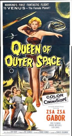 queen of outer space, 1950s