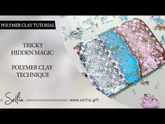Polymer Clay Technique - Hidden Magic. FREE Video Tutorial. How to make | Polymer clay tutorial - YouTube