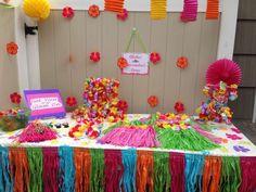 Glam Luau Birthday Party Ideas   Photo 9 of 42   Catch My Party