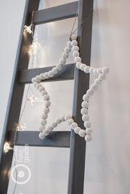 Christmas ladder decor