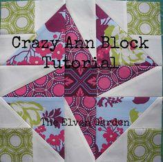 The Elven Garden: {QAL} Block 13 - Crazy Ann