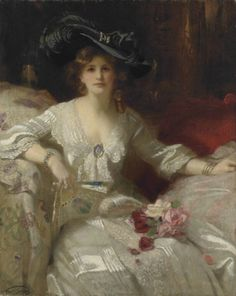 The Fair Lady, The Bridal Dress by Francis Owen Salisbury.