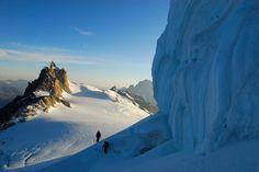 Vue sur l'Aiguille du Midi Copyrigt Pascal Tourniare