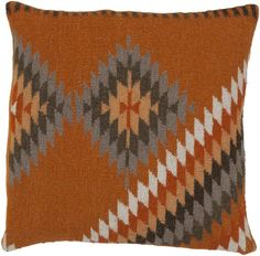 Surya Kilim Tranquil Tribal LD-037 Pillow by Beth Lacefield – Incredible Rugs and Decor