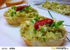 Canapes, Pesto, Baked Potato, Potato Salad, Potatoes, Treats, Baking, Ethnic Recipes, Fitness