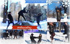 """Such exuberance! - """"Let It Go"""" Remix #WeDanceDay @ Central Park (Winter Edition) (28 Jan 2015)"""