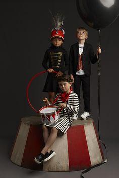 Kid's Wear - LUISAVIAROMA and kid's wear Magazine invite creative kids to let their imagination soar!