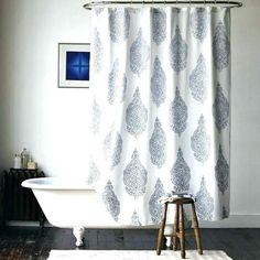 New Medallion Shower Curtain - modern - shower curtains - West Elm Pretty Shower Curtains, Modern Shower Curtains, Striped Shower Curtains, Fabric Shower Curtains, Bathroom Shower Curtains, Navy Blue Shower Curtain, Paisley Shower Curtain, Bathtub Shower, Bad Hacks