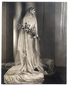 Vintage Brides — 1930's bridal fashion photography by Blake for...