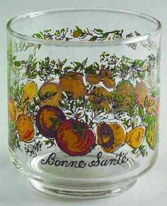 Corning Spice of Life 8 Oz Glassware Old Fashioned Corningware Vintage, Vintage Kitchenware, Vintage Dishes, Vintage Glassware, Vintage Pyrex, Correlle Dishes, Hull Pottery, Linens And More, Old Fashioned Glass