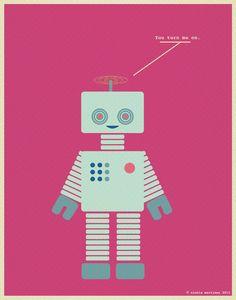 Cute Graphic Designs of Nerdy Science Love - My Modern Metropolis