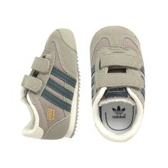 5abb002fcce8 Adidas Dragon Shoe Grey - mini mioche - organic infant clothing and kids  clothes - made in Canada