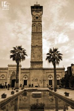 This minaret of the Grand Omayyad Mosque of Aleppo was destroyed today 24/4/2013