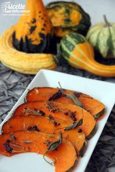 Zucca al forno - Owen Pumpkin #recipe #ricette #foodideas #foodcreative