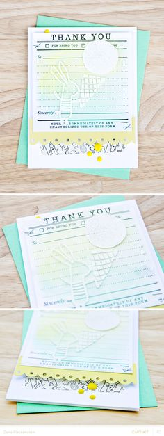 Studio Calico Galileo Card Kit | Thank You for Being You Card by @pixnglue