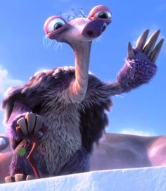 "Ice Age: Continental Drift - Granny (Wanda Sikes) is a ground sloth and also Sid's grandmother. She joins the herd after her own family abandons her, calling her ""dead weight"" to save their own skins before the earthquake (that and to avoid Sid)."