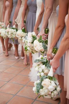 Muted pastels.  Read more - http://www.stylemepretty.com/2013/07/15/rancho-santa-fe-wedding-from-birds-of-a-feather-amorology/