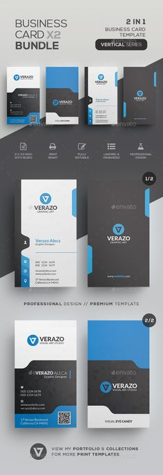 #Business #Card Bundle 47 - Corporate Business Cards