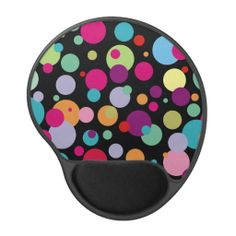 Colorful Polka Dots Pattern Gel Mousepads This site is will advise you where to buyShopping          Colorful Polka Dots Pattern Gel Mousepads Here a great deal...