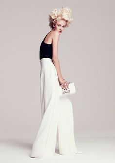 High Contrast - Black and White Clothing 2012 - Black and White Fashion Trend - Harper's BAZAAR#