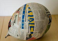 Moet je nog een surprise maken? Ga aan de slag met papier maché! Lees hier de tips: http://kion.nl/nieuws