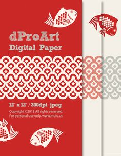 Digital Japanese Paper 05, Instant JPEGs Download.